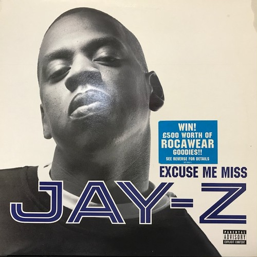 Jay-Z - Excuse Me Miss (12inch) Kanye West UK盤 [hiphop] 試聴 fps7906-10