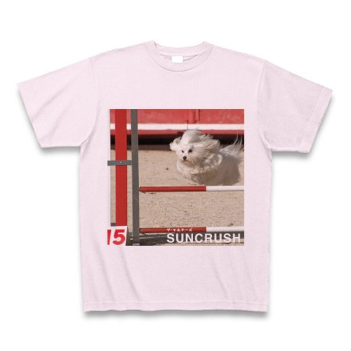 SUNCRUSH[A] Tシャツ ピンク