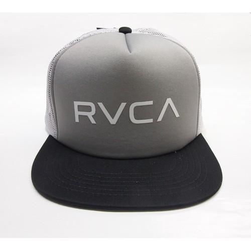 【RVCA(ルカ)】メンズ メッシュキャップ MEN'S HEADWEAR The RVCA Trucker II Hat トラッカー 2 ブラック/グレー 2015 超最新作 AF041904
