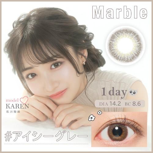 マーブルワンデー(Marble 1DAY)《IcyGray》アイシーグレー[10枚入り]