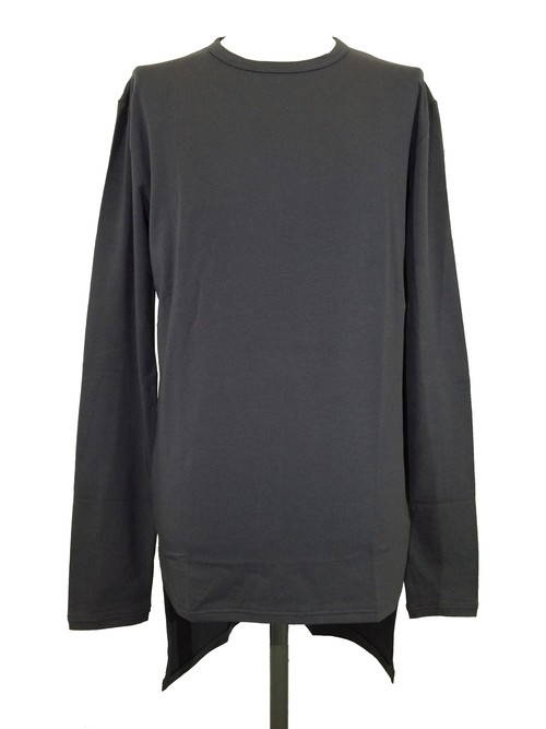 TAIL LONG SLEEVES  -CHARCORL-