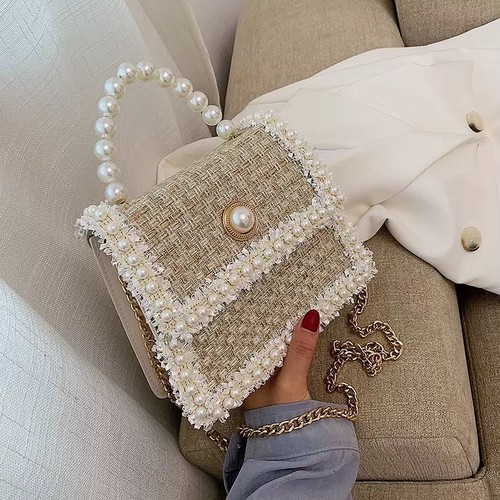 pearl bag 3color