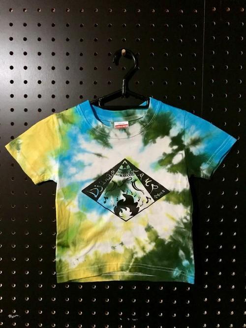 子供用Tシャツ(100)タイダイ
