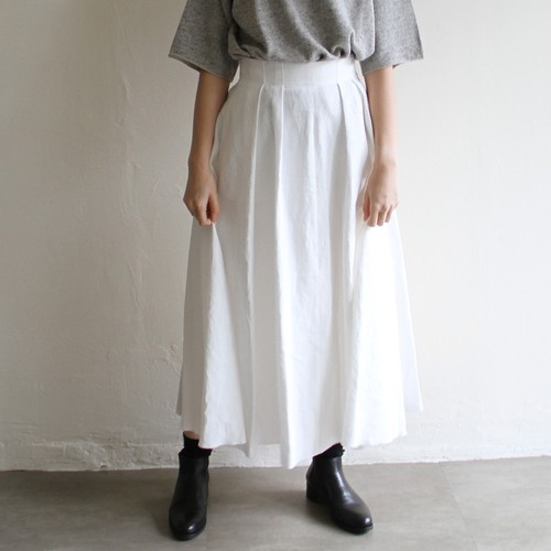 UNION LAUNCH【 womens 】linen flare skit