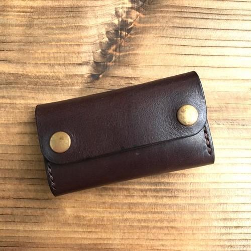 カードケース(名刺入れ):チョコブラウン