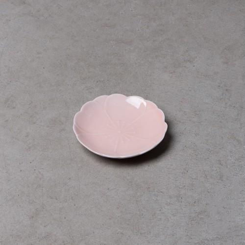 有田焼】さくら小皿/桃釉