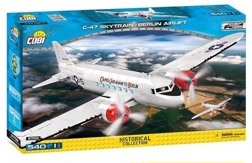 COBI #5702 Douglas C-47 (ベルリンエアーリフト)