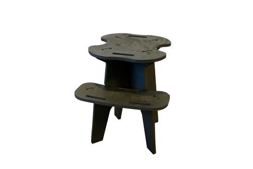 CAMPOOPARTS ジャグスタンド palette    abenopaint カラーOD plywood「組立式」