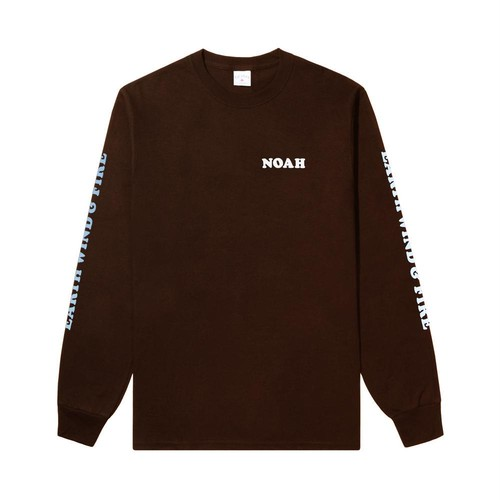 Noah x Earth, Wind & Fire Last Days and Time Tee(Brown)