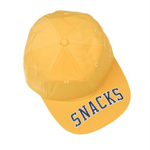 QUARTERSNACKS / SNACKS CAP -MUSTARD-