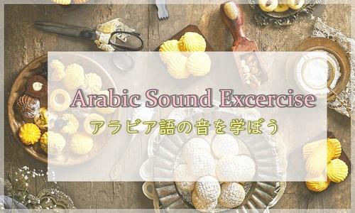 トライアルレッスン・Arabic Sound Excercise~アラビア文字を始める人へ音も一緒にまなびませんか?