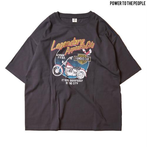 vintageイラストTシャツ NO1501031