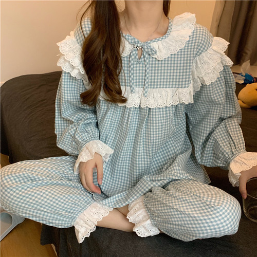 gingham room wear 2c's