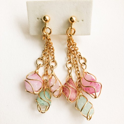"""AVON"" Whispers of Spring earring[e-1121]"