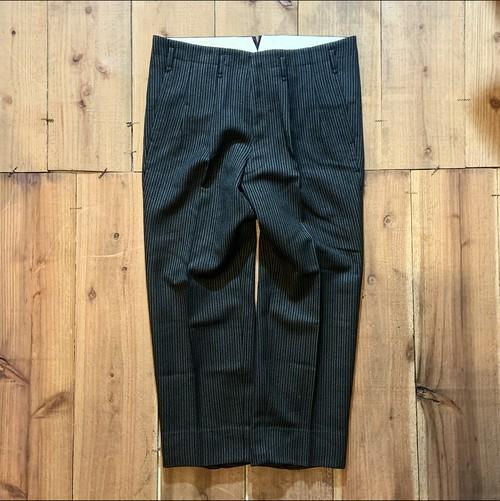 vintage wool stripe slacks