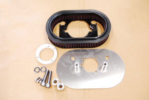 Sportster Hi-Flow Air Cleaner Kit For Injection