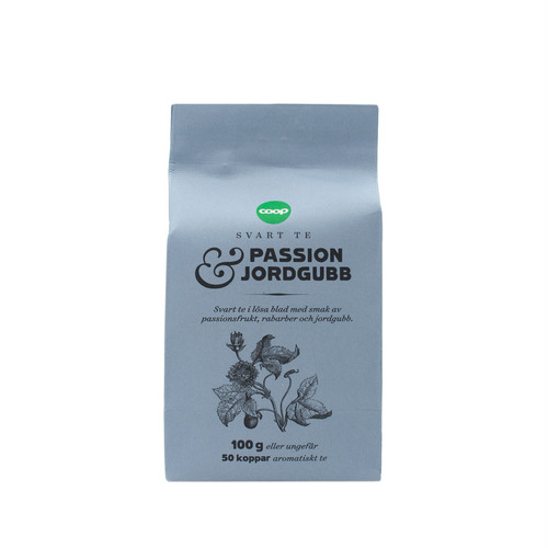 PASSION & JORDGUBB (パッションフルーツと苺)フレーバーティー 100g