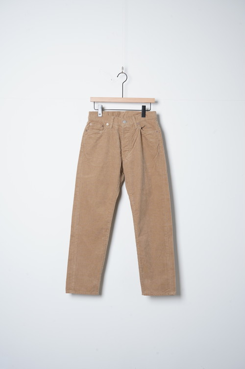 ANKLE CORDUROY PANTS/OF-P092
