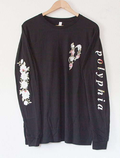 ※Restock【POLYPHIA】Flower Long Sleeve (Black)