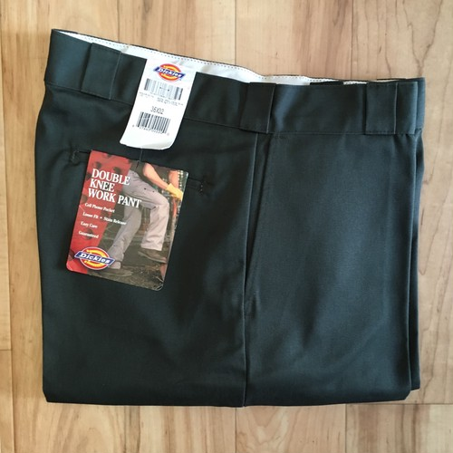 """""""NOS"""" Dickies DOUBLE KNEE WORK PANT  W36 inch <Made in USA>"""