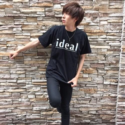 龍星デザイン【ロゴBIGTシャツ】(BK)