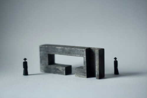 (023)wood figure-mini & construction 箱入 07