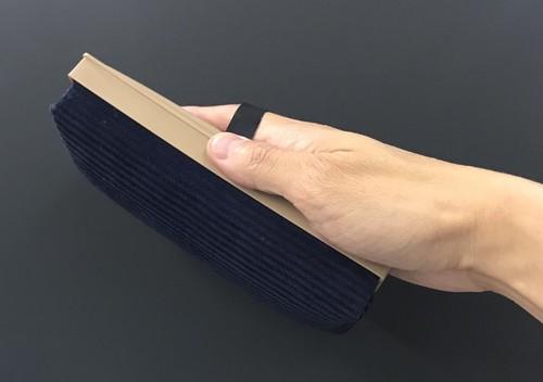 最も一般的で使いやすいサイズの黒板消し(チョークボード用ラーフル)