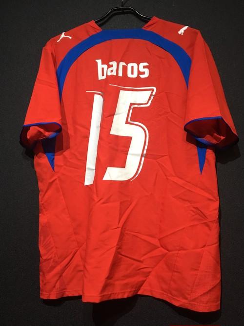 【2006/07】 / チェコ代表(H)/ Condition:A- / Size:L / #15 BAROS