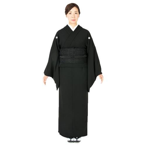 要納期お問い合わせ えもんの着物 簡単 喪服 フォーマル ジャケット スカート (Aタイプ) 着物 S ~ Mサイズ