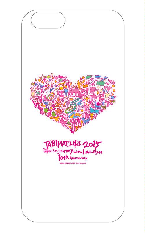 ハート柄・iPhoneケース【旅祭 × 松田光一(世界遺産アーティスト)】 iPhone6対応