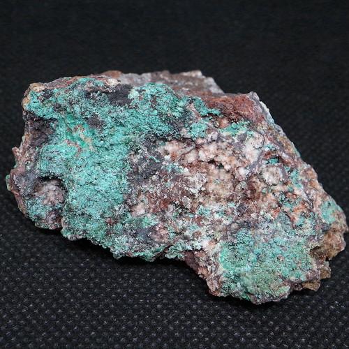 アリゾナ州産 ブロシャン銅鉱 + ヘミモルファイト 56,2g BRN003 鉱物 原石 天然石 パワーストーン