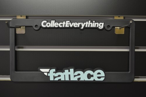 fatlace Licence plate frames