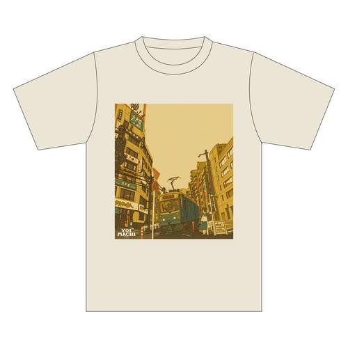 YOIMACHIメモリアル Tシャツ -春のYOIMACHI 2018- ナチュラル