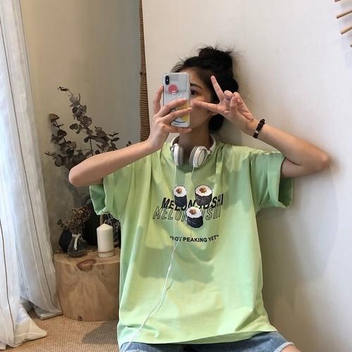 寿司プリントTシャツ