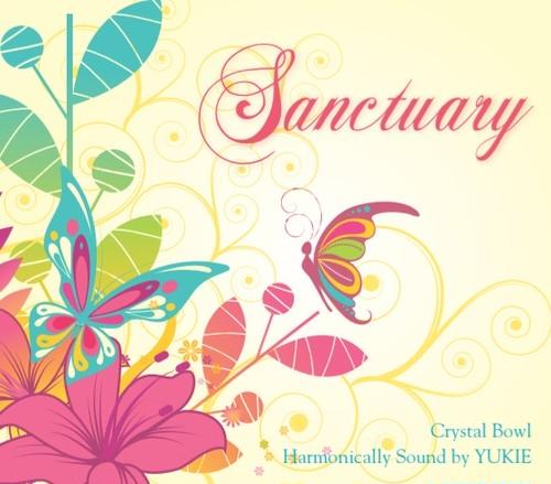 クリスタルボウルCD 「Sanctuary」