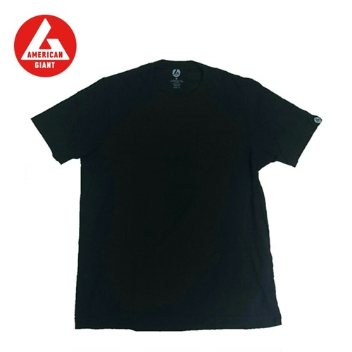 AMERICAN GIANT Heavyweight T-Shirt BLACK