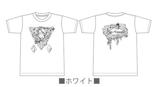 Tシャツ「ハナノイロハ」 大きいサイズ XXL全6色