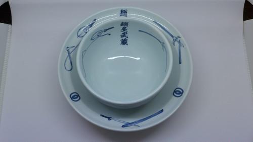麺屋武蔵つけ麺用丼ぶり皿セット
