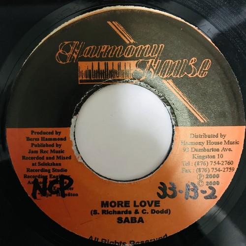 Saba - More Love 【7-10919】