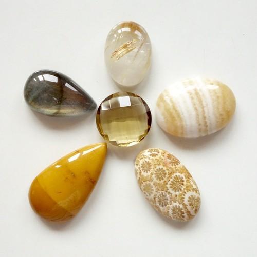 【1日限定】ハチミツみたいな天然石セット