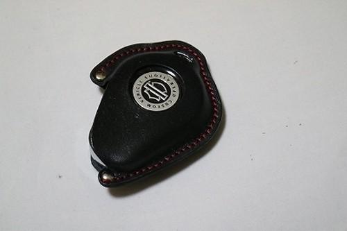type1(革黒) ハーレーCVOセキュリティーキーフォブカバー【レザーキースーツ】