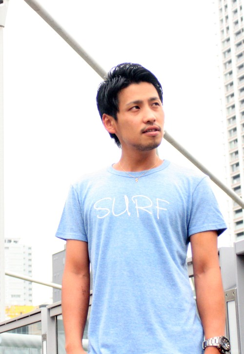 SURF TRY blend tee