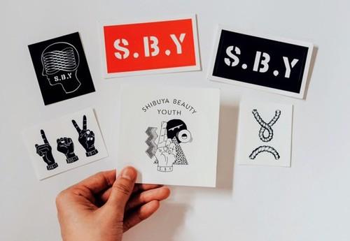 S.B.Yオリジナルステッカー