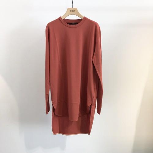 【20SS】TRENT / Long Sleeve Slit Top