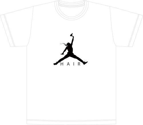 Hair Jordan Tシャツ