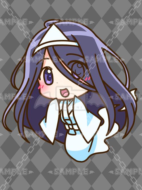 幽霊ちゃん_黒髪_S