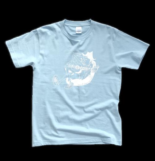 uncle 'B' T-shirt -Blue-