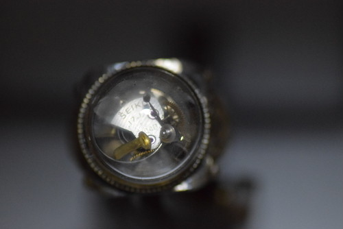 時計部品の指輪 15mmガラスドーム roku倉敷 steampunk