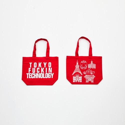 Anoraks   TOKYO FUCKIN TECHNOLOGY TOTE [Red]