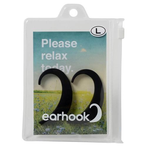 EARHOOK BLACK(黒)Lサイズ【商品コード:E8KL】